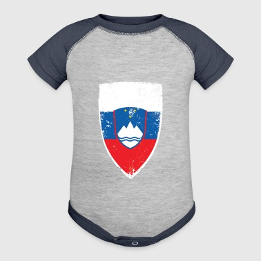 Flag of Slovenia - Baby Contrast One Piece