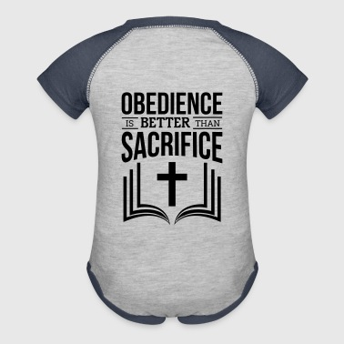Obedience - Baby Contrast One Piece
