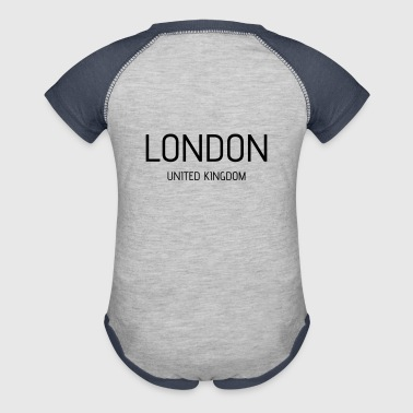 london uk - Baby Contrast One Piece