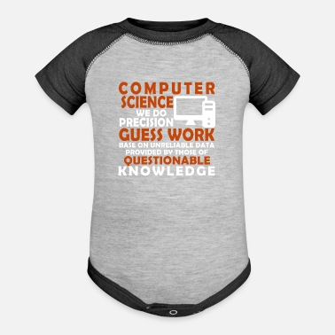 Computer Science Computer science - Baseball Baby Bodysuit