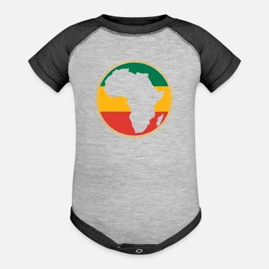 08d43b161c500 African Map Organic Short Sleeve Baby Bodysuit - black