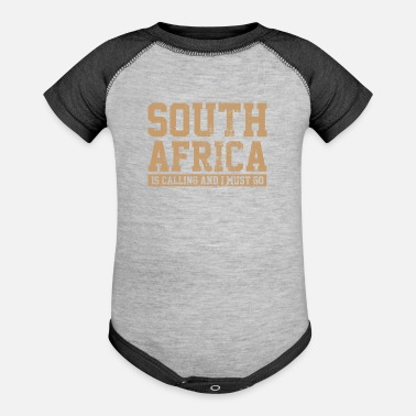 South Africa South Africa - Baseball Baby Bodysuit