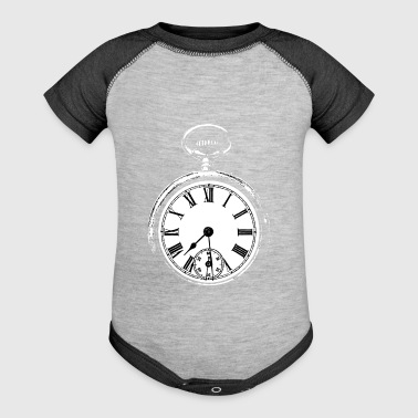 Clock - Baby Contrast One Piece