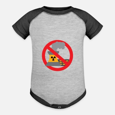 Anti Nuclear Power Anti nuclear power gift protest stop Castor - Baseball Baby Bodysuit