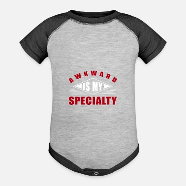 Embarrassing Embarrassing gift embarrassing moment - Baseball Baby Bodysuit