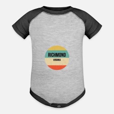Richmond Richmond Virginia Shirt Richmond - Baseball Baby Bodysuit