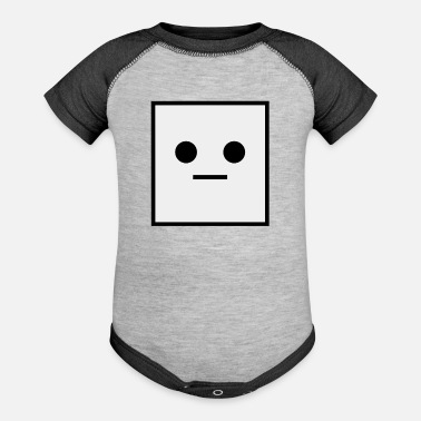 Square 962 Square it is a Square Geometric Square - Baseball Baby Bodysuit
