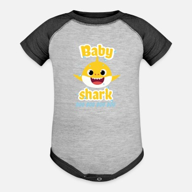 Baby shark doo doo shirt toddlers outfit girl - Baseball Baby Bodysuit
