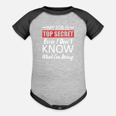 Workspace Job Jobs Employee Workspace Funny Humor Boss - Baseball Baby Bodysuit