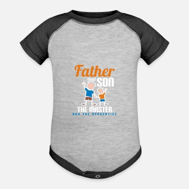 Fathers Day Gifts - Baseball Baby Bodysuit