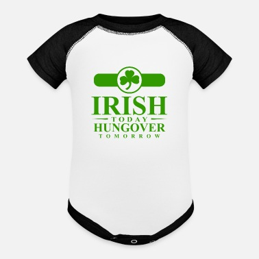 irish_tshirt (1) - Baseball Baby Bodysuit