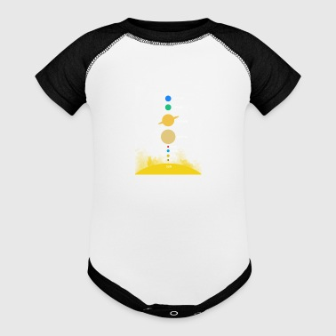 Solar system - Baby Contrast One Piece