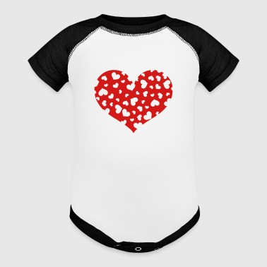 Hundreds Heart - Baby Contrast One Piece