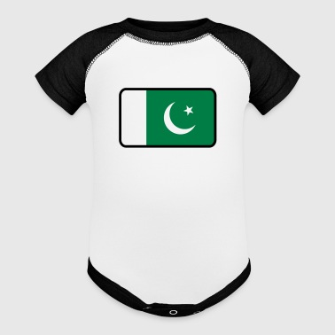 National Flag Of Pakistan - Baby Contrast One Piece