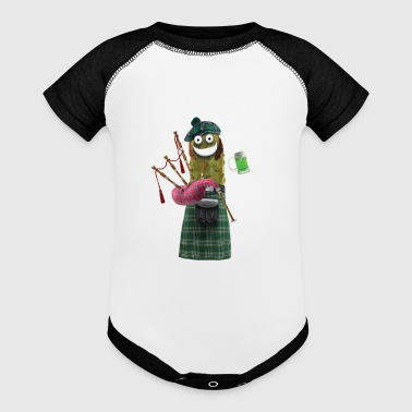 Bagpipe Pickle - Baby Contrast One Piece