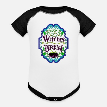 Witches Brew Witches Brew - Baseball Baby Bodysuit