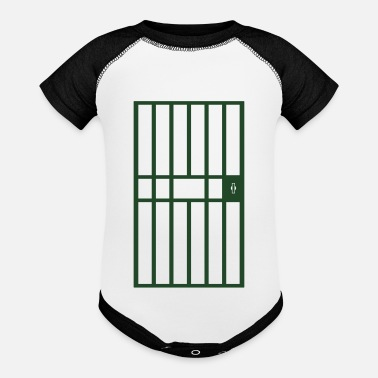 Jail Jail Cell - Baseball Baby Bodysuit