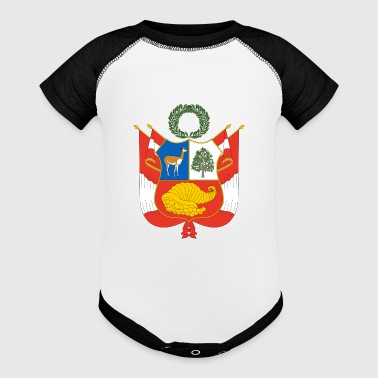 National Coat Of Arms Of Peru - Baby Contrast One Piece