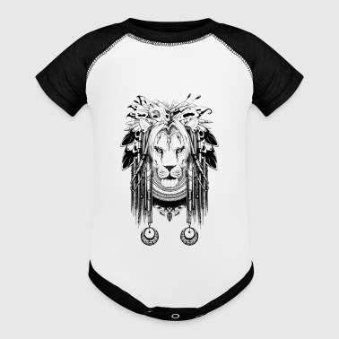 shaman lion - Baby Contrast One Piece