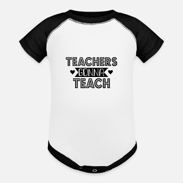 Teaching Teach - Baseball Baby Bodysuit