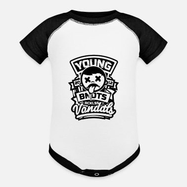 Young Persons Young - Baseball Baby Bodysuit