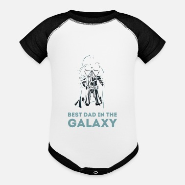 Best BEST DAD IN THE GALAXY - Baseball Baby Bodysuit