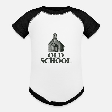 Old School Old School - Baby Contrast One Piece
