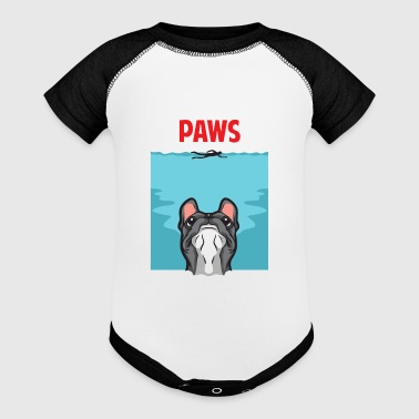 PAWS - Baby Contrast One Piece