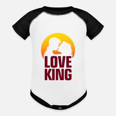 Erotica The Love King - Baseball Baby Bodysuit
