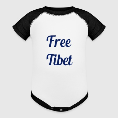 Free Tibet - Baby Contrast One Piece