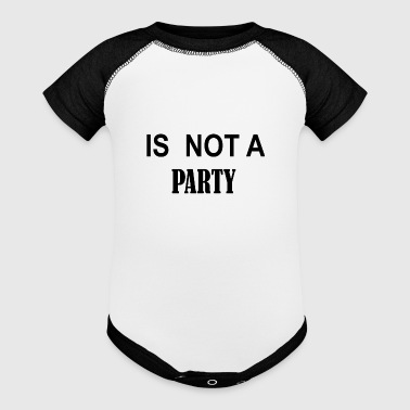 IS NOT A PARTY - Baby Contrast One Piece