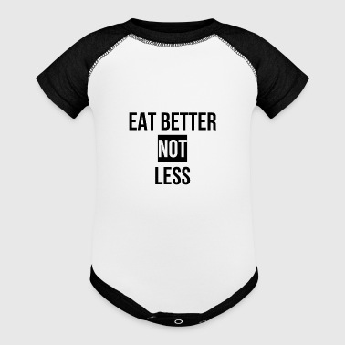 eat animal welfare - Baby Contrast One Piece