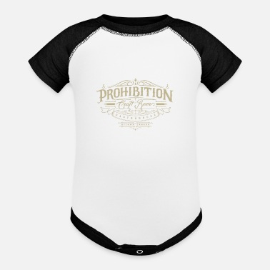 Prohibited Prohibition gastrohouse - Baseball Baby Bodysuit