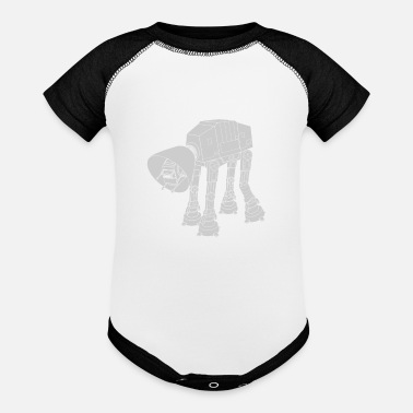 Damage Battle Damage - Baseball Baby Bodysuit