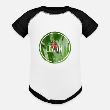 Learn Learn! - Baseball Baby Bodysuit