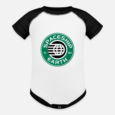 Starbucks Spaceship Starbucks - Contrast Baby Bodysuit