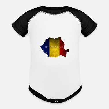 Bucharest Romania Bucharest Patriotism Gift - Contrast Baby Bodysuit