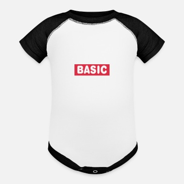 Minimum BASIC - Baseball Baby Bodysuit