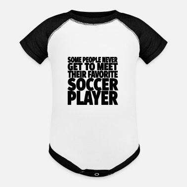 Soccer Soccer Player - Baseball Baby Bodysuit