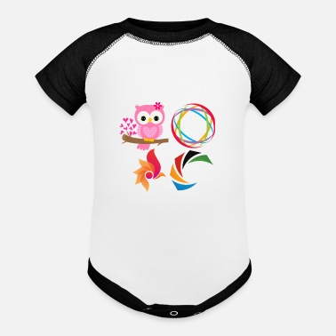 Birds - Baseball Baby Bodysuit