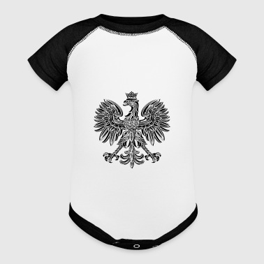 Polska National Eagle Deluxe - Baby Contrast One Piece