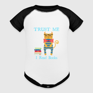 Read Trust Me I Read Books - Baby Contrast One Piece