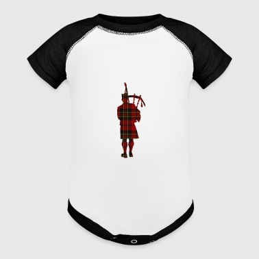 Man Bagpipe - Baby Contrast One Piece