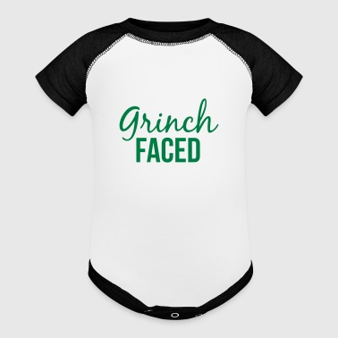 Grinch Faced - Baby Contrast One Piece