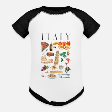 Little Italy Italy - Baseball Baby Bodysuit