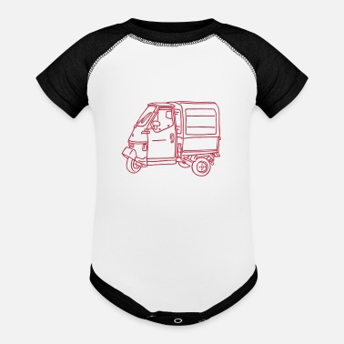Transport Tricycle Transporter - Contrast Baby Bodysuit