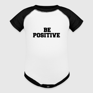 BE POSITIVE - Baby Contrast One Piece