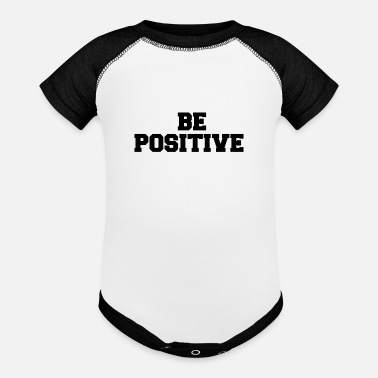 Sex Position BE POSITIVE - Contrast Baby Bodysuit
