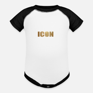 Iconic ICON - Baseball Baby Bodysuit