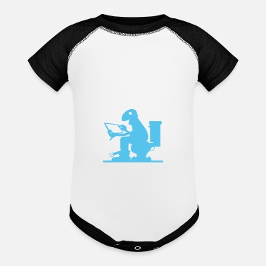 Bathroom Bathroom Blogger - Baseball Baby Bodysuit